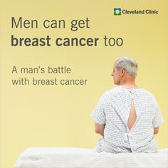 People don't expect men to get breast cancer. This man did.    Read his story and his surprising request.