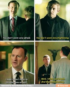 John and Mycroft | Sherlock
