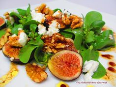 Purslane Salad with Figs and Walnuts Recipe. The world's richest source of Omega-3 fatty acids, purslane boasts a bounty of health benefits essential for supporting clear eyesight. It is rich in carotenoids, vitamin C, vitamin E, and many antioxidants (including glutathione), which are all necessary for keeping the eyes healthy.