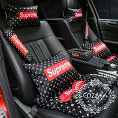 Supreme Accessories, Car Accessories For Girls, Cool Gadgets To Buy, Car Gadgets, Hypebeast Outfit, Supreme Art, Supreme Clothing, Supreme Hoodie, Black Audi