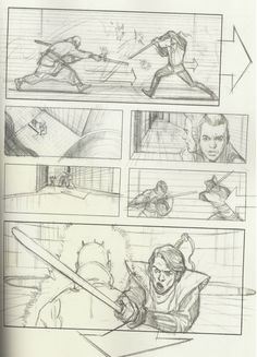 We had no idea the Star Wars prequels could have been this good! A brand new book of Star Wars storyboards maps out a much darker origin story for Luke and Leia Skywalker. Everything is darker, worlds are destroyed, characters die and Qui-Gon Jinn HAS A MOHAWK. Here's the amazing details we spotted in Star Wars Storyboards, a new book put together by the artists behind the prequels.