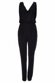 Black Chain Jumpsuit