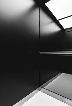 Gallery of Rotermann Grain Elevator / KOKO architects - 10 Image 10 of 21 from gallery of Rotermann Grain Elevator / KOKO architects. via KOKO architects Car Interior Design, Interior Design Magazine, Interior Architecture, Lift Design, Cabin Design, Hotel Interiors, Office Interiors, Elevator Design, Elevator Lobby