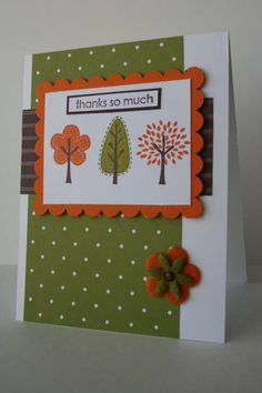 Thankful Trendy Trees by thisissomuchfun - Cards and Paper Crafts at Splitcoaststampers