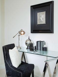 Small Home Office Desk Area |  Martin Grant.