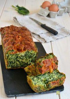 plumcake agli spinaci gp
