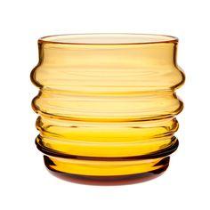 honey- glass tumbler
