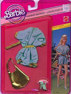 Outfit 80 84 Barbie Style, Barbie Dream, 1980s Barbie, Barbie Skipper, Vintage Barbie Clothes, Doll Clothes, Habit Barbie, Barbie Summer, Barbie Collection