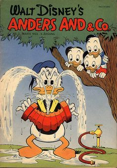 Donald Duck & Co - Danish (Anders And & Co) 1953