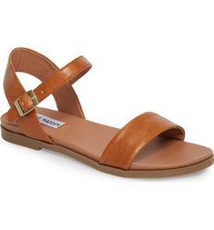 Dina Sandal, Main, color, Tan Leather