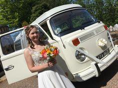 Campervan wedding in Ilfracombe, Devon by VW Camper Hire Devon Ltd Devon Holidays, North Devon, Vw Camper, Campervan, Weddings, Wedding, Marriage