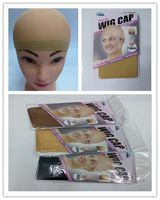 Stockings Wholesale Factory Price Beige Deluxe Wig Cap/Beige Black Bonde Three Color Hairnets Available FreeShipping