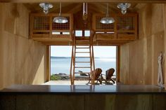 Bosworth Hoedemaker, boathouse, Hood Canal Boathouse, renovation, sliding doors, local wood, Architecture, Green Materials, Green renovation...