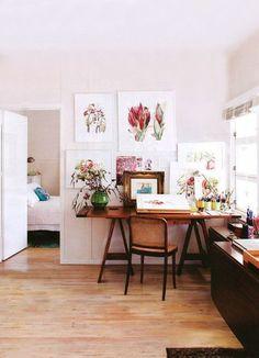 Lovely artist studio.