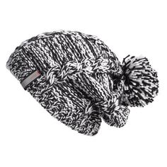 Cap your winter style with a slouchy two-tone beanie stitched with chunky cables and topped by a perky pom. Brand: Zella. Style Name: Zella Chunky Knit Beanie.…