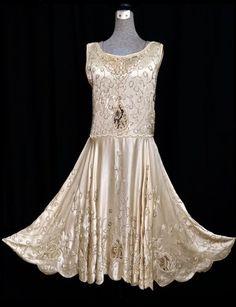 1920's Beaded dress - @~ Mlle