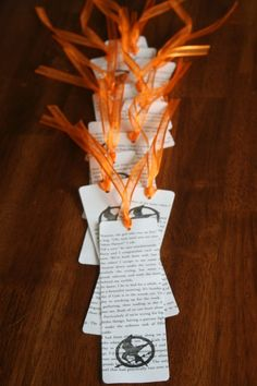 craft for hunger games book club