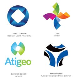 These arcs combine to express a cyclical motion, creating a dynamic essence of change. The twist also reveals change, as if turning a new page. Logo Design Trends, Best Logo Design, Custom Logo Design, Logo Design Inspiration, Graphic Design, Typography Logo, Logo Branding, Branding Design, Corporate Design