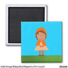 Little Orange Riding Hood Magnet