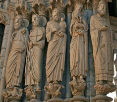 Jamb Statues, North Portal, Notre-Dame de Chartres Cathedral