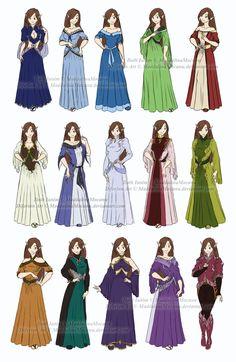 Dress and Clothes Designs: P1 - Iloth Ianim by MaddalinaMocanu.deviantart.com on @DeviantArt