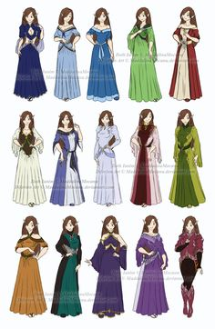 Dress and Clothes Designs: P1 - Iloth Ianim by MaddalinaMocanu on @deviantART