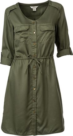 Buy the Bob Timberlake Safari Shirt Dress for Ladies and more quality Fishing, Hunting and Outdoor gear at Bass Pro Shops. Dress Outfits, Fall Outfits, Casual Dresses, Casual Outfits, Summer Dresses, Hijab Fashion, Fashion Dresses, Safari Shirt, Safari Dress