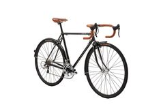New Creme Lungo Black- a beautiful touring bicycle