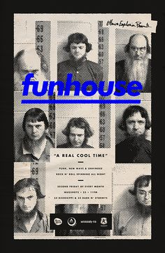 ✖✖✖ funhouse by Michael George Haddad, via Behance ✖✖✖