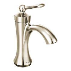 Moen Brantford Chrome 1 Handle 4 In Centerset Watersense Bathroom
