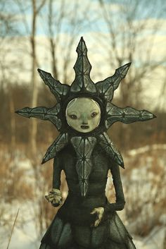 not a rag doll, just love this work........scott radke puppets