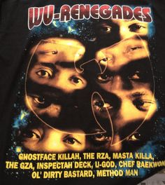 Vintage 90's Rap T-Shirt - Wu-Tang - Wu-World #wutangforever