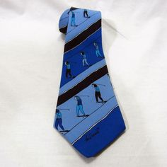 René Broné Golf Tie Made by Cervo Golfer Golfing #Cervo #Tie
