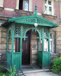 Gazebo, Porch, Outdoor Structures, Gingerbread, Houses, Home Decor, Facades, Home, House Entrance