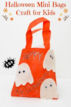 Scare up Some Fun With Mini Halloween Bags Craft for Kids  MyKidsGuide