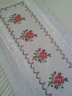 The most beautiful cross-stitch pattern - Knitting, Crochet Love Cross Stitch Letters, Cross Stitch Bookmarks, Just Cross Stitch, Cross Stitch Borders, Cross Stitch Samplers, Modern Cross Stitch, Cross Stitch Flowers, Cross Stitch Designs, Cross Stitching