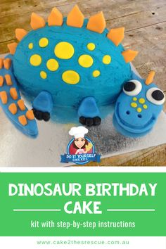 Need an easy to make baby dinosaur birthday cake? Our DIY cake kits are perfect and yummy. Boys Birthday Cakes Easy, Unique Birthday Party Ideas, Homemade Birthday Cakes, Boy Birthday, Dinosaur Cakes For Boys, Dinosaur Birthday Cakes, Dinosaur Themed Food, Dinosaur Party Decorations, Cake Kit