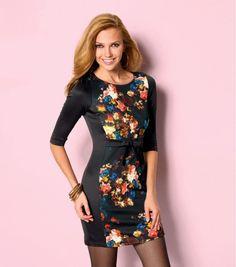 Resultado de imagen para vestidos cortos elegantes de flores