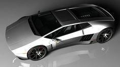 Concept Car: De Tomaso Mangusta Legacy Concept by Maxime de Keiser | Immagine 16 di 28