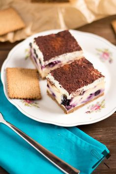 [Family Sunday] Blueberry Cheesecake Bars - Last but not least! - Law of Baking