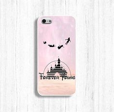 Forever Young case Disney phone case for iPhone 5/5S by AlinaCase, $9.99