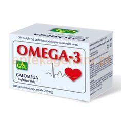 Galomega Omega-3, 300 kapsułek