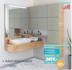 Großartig KikaLeiner Badezimmer Möbel Angebot: Rauchenzauner Badezimmer Programm Silk