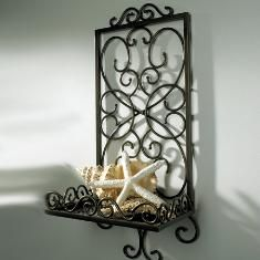 Princess House accent shelf - could also be used in bathroom to keep things off of the counter.