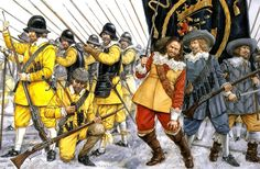 The Army of Gustavus Adolphus - The Old Guard: The Yellow Regiment at Lützen, 1632 Military Art, Military History, Renaissance, 17th Century Clothing, Swedish Army, Thirty Years' War, Landsknecht, Modern Warfare, Gladiators