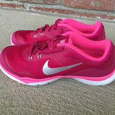 NWOB Nike Running Shoes Pink, gray and silver. Never worn Nike Shoes Athletic Shoes