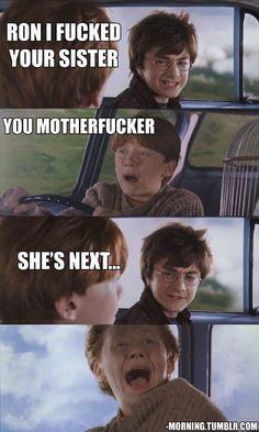 Harry Potter #motherfucker