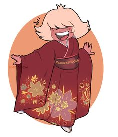 Steven Universe Fan Art! — Hi! Our lovely Padparadscha (Steven Universe) with...