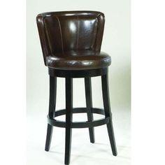Lisbon Swivel Seat Leather Barstool