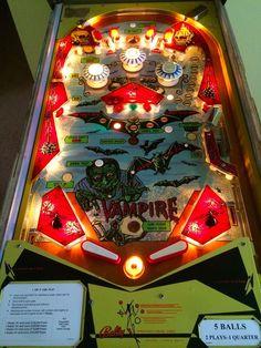 1971 Bally Vampire Em Pinball Machine RARE Only 799 Produced | eBay